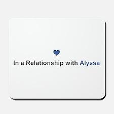 Alyssa Relationship Mousepad
