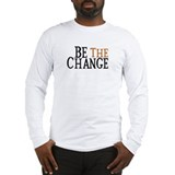 Be the change Long Sleeve T-shirts