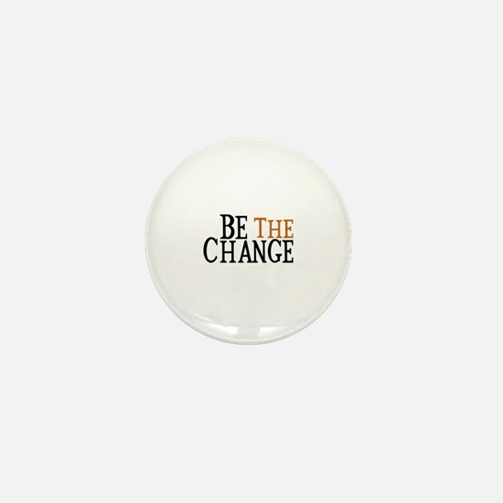 Be The Change Mini Button (100 pack)