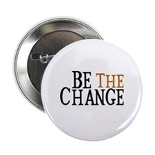 "Be The Change 2.25"" Button (100 pack)"