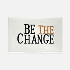 Be The Change Rectangle Magnet
