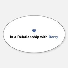 Barry Relationship Oval Decal