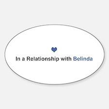 Belinda Relationship Oval Decal
