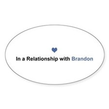 Brandon Relationship Oval Decal