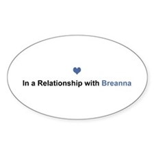 Breanna Relationship Oval Decal