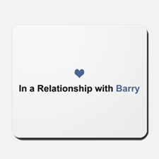 Barry Relationship Mousepad