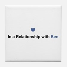 Ben Relationship Tile Coaster