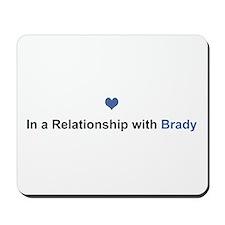 Brady Relationship Mousepad