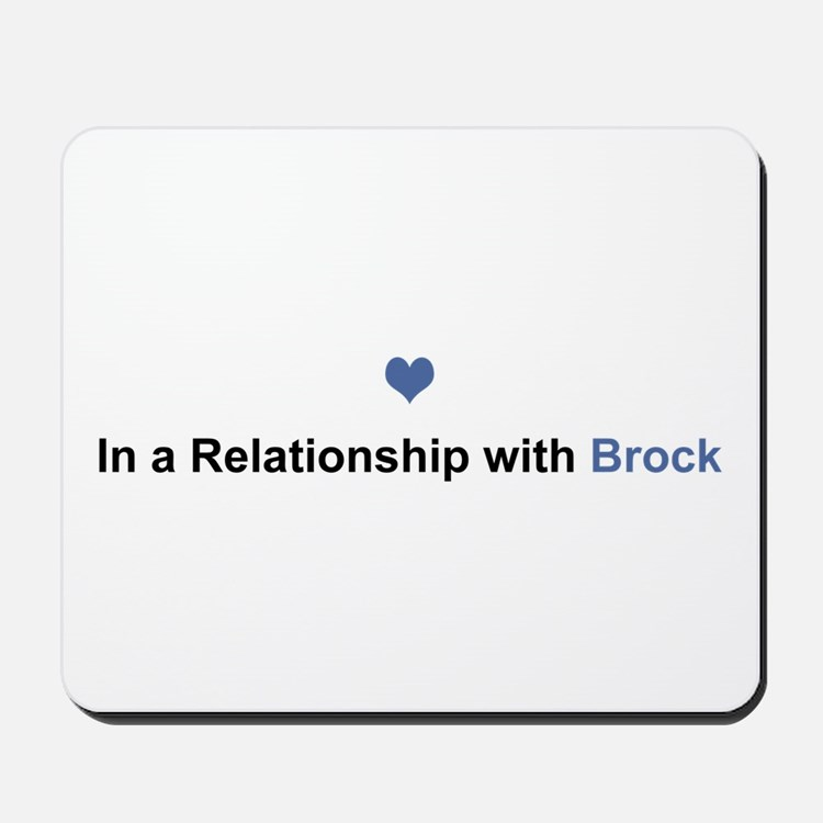 Brock Relationship Mousepad