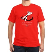 Boner Dedication Men's Fitted T-Shirt (Dark)
