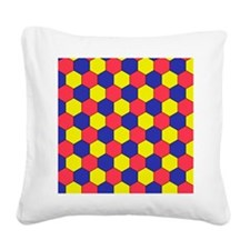 Uniform tiling pattern - Square Canvas Pillow