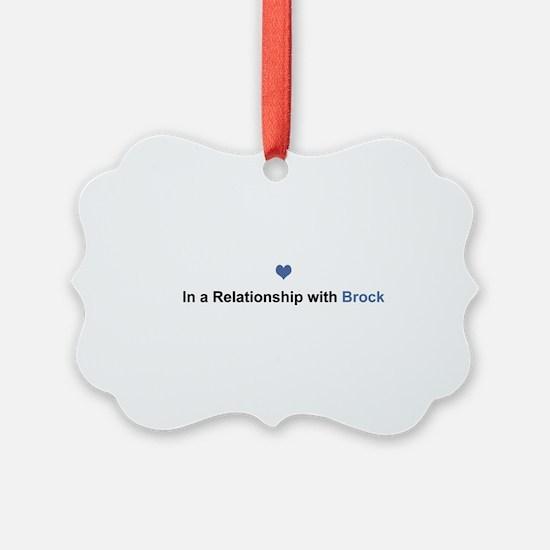 Brock Relationship Ornament
