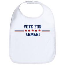 Vote for ARMANI Bib
