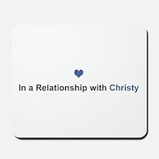 Christy Relationship Mousepad