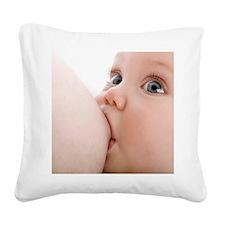 Breastfeeding - Square Canvas Pillow
