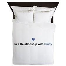 Cindy Relationship Queen Duvet