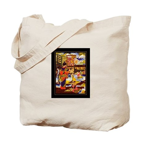 Seattles Pike Place Market Tote Bag