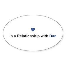 Dan Relationship Oval Decal
