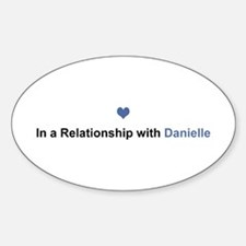 Danielle Relationship Oval Decal