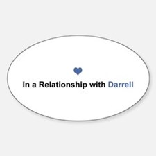 Darrell Relationship Oval Decal