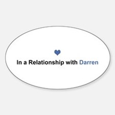 Darren Relationship Oval Decal