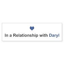 Daryl Relationship Bumper Bumper Sticker