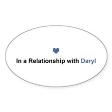 Daryl Relationship Oval Decal