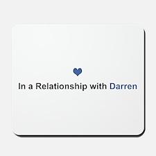 Darren Relationship Mousepad