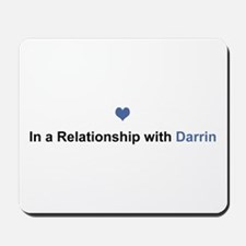 Darrin Relationship Mousepad