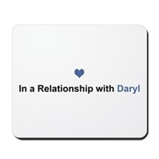 Daryl Relationship Mousepad