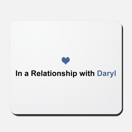 Daryl Relationship Mousepad
