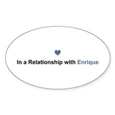 Enrique Relationship Oval Decal