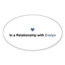 Evelyn Relationship Oval Decal