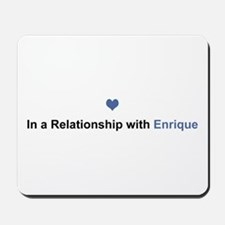 Enrique Relationship Mousepad