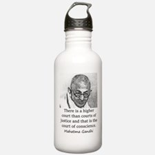 There Is A Higher Court - Mahatma Gandhi Water Bot