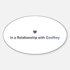 Geoffrey Relationship Oval Decal