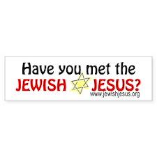 Jewish Jesus Bumper Bumper Sticker