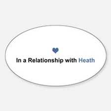 Heath Relationship Oval Decal
