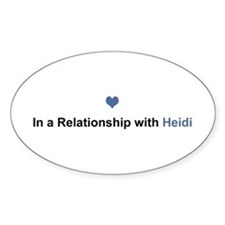 Heidi Relationship Oval Decal
