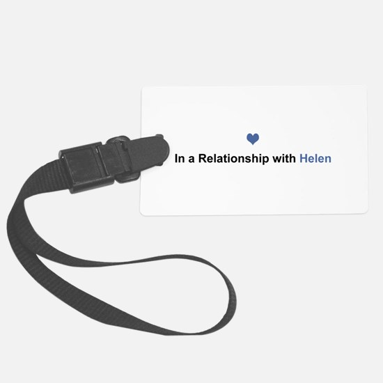 Helen Relationship Luggage Tag