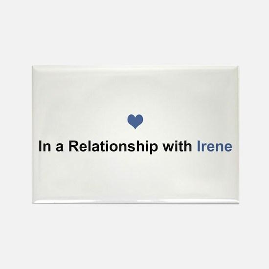 Irene Relationship Rectangle Magnet