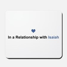 Isaiah Relationship Mousepad
