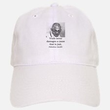 Truth Never Damages - Mahatma Gandhi Baseball Baseball Baseball Cap