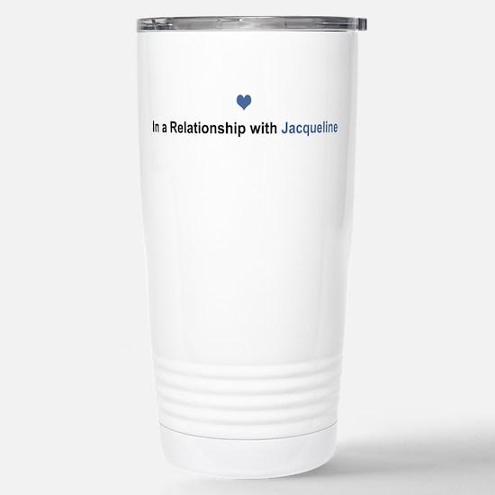 Jacqueline Relationship Stainless Steel Travel Mug