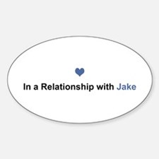 Jake Relationship Oval Decal