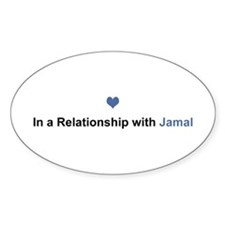 Jamal Relationship Oval Decal