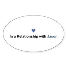 Jason Relationship Oval Decal