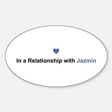 Jazmin Relationship Oval Decal
