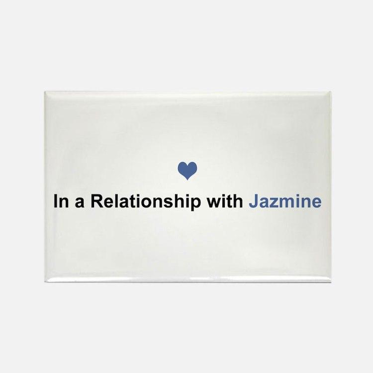 Jazmine Relationship Rectangle Magnet
