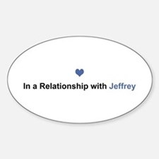 Jeffrey Relationship Oval Decal
